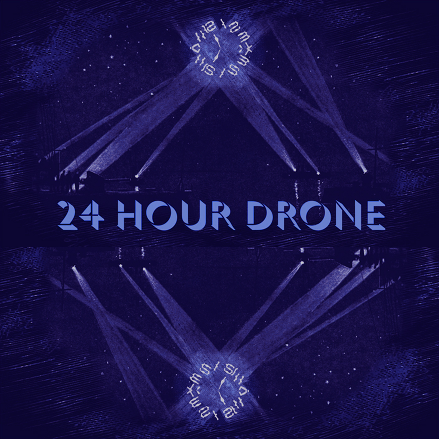 24 Hour Drone Poster