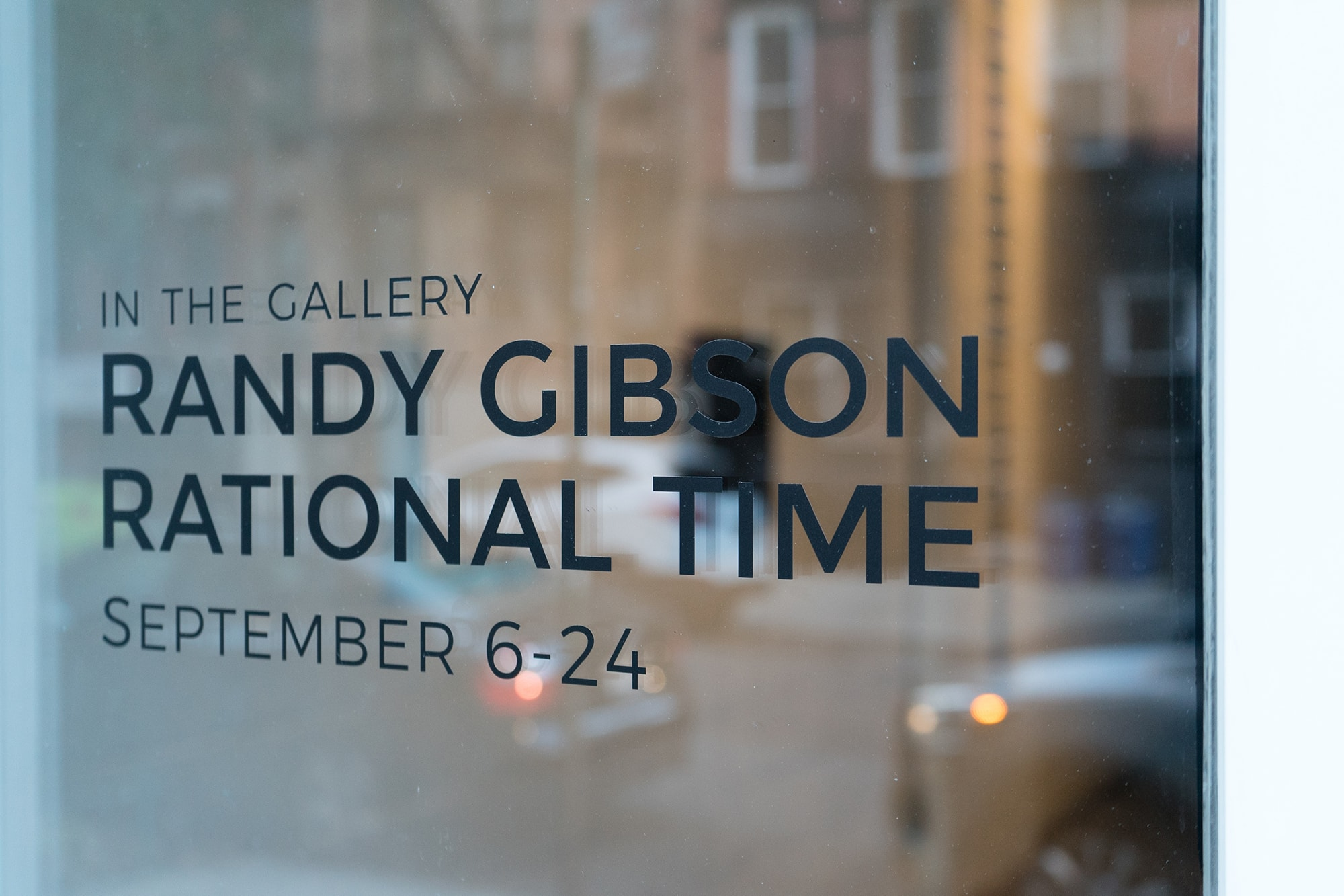 Randy Gibson's solo show <em>Rational Time</em> at the Wild Project Gallery, NYC