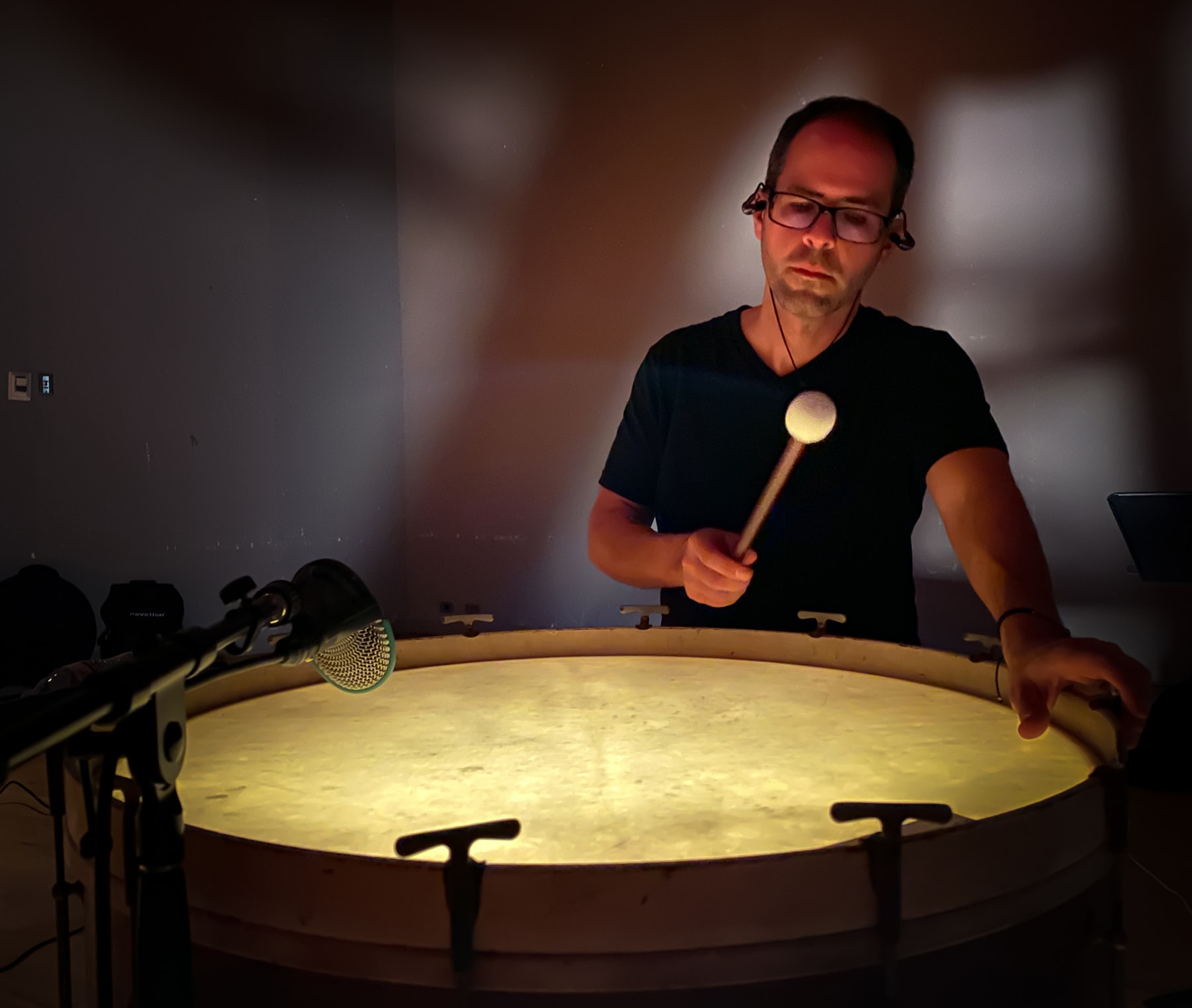 Al Cerulo performing Randy Gibson's ″Expanding Rhythms in Harmonic Time″