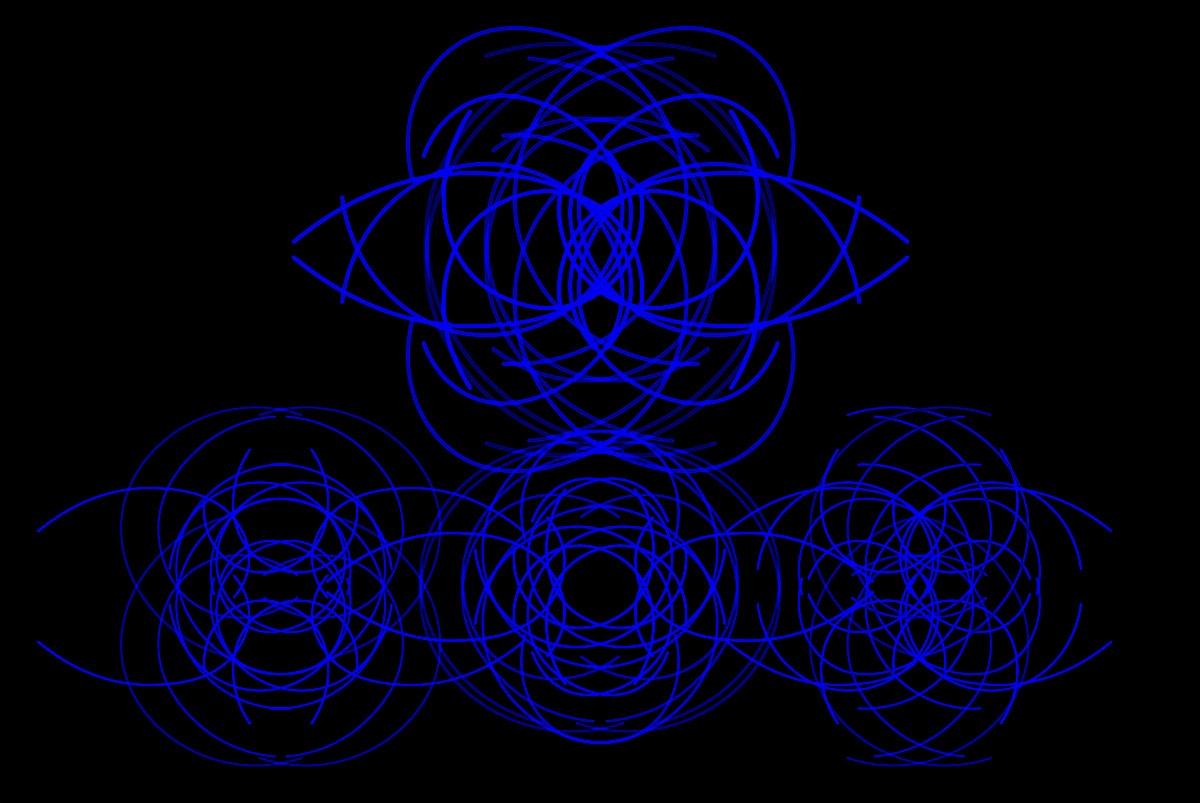 Randy Gibson's <em>Quadrilateral Starfield Symmetry ATS4 Base 6:81</em>
