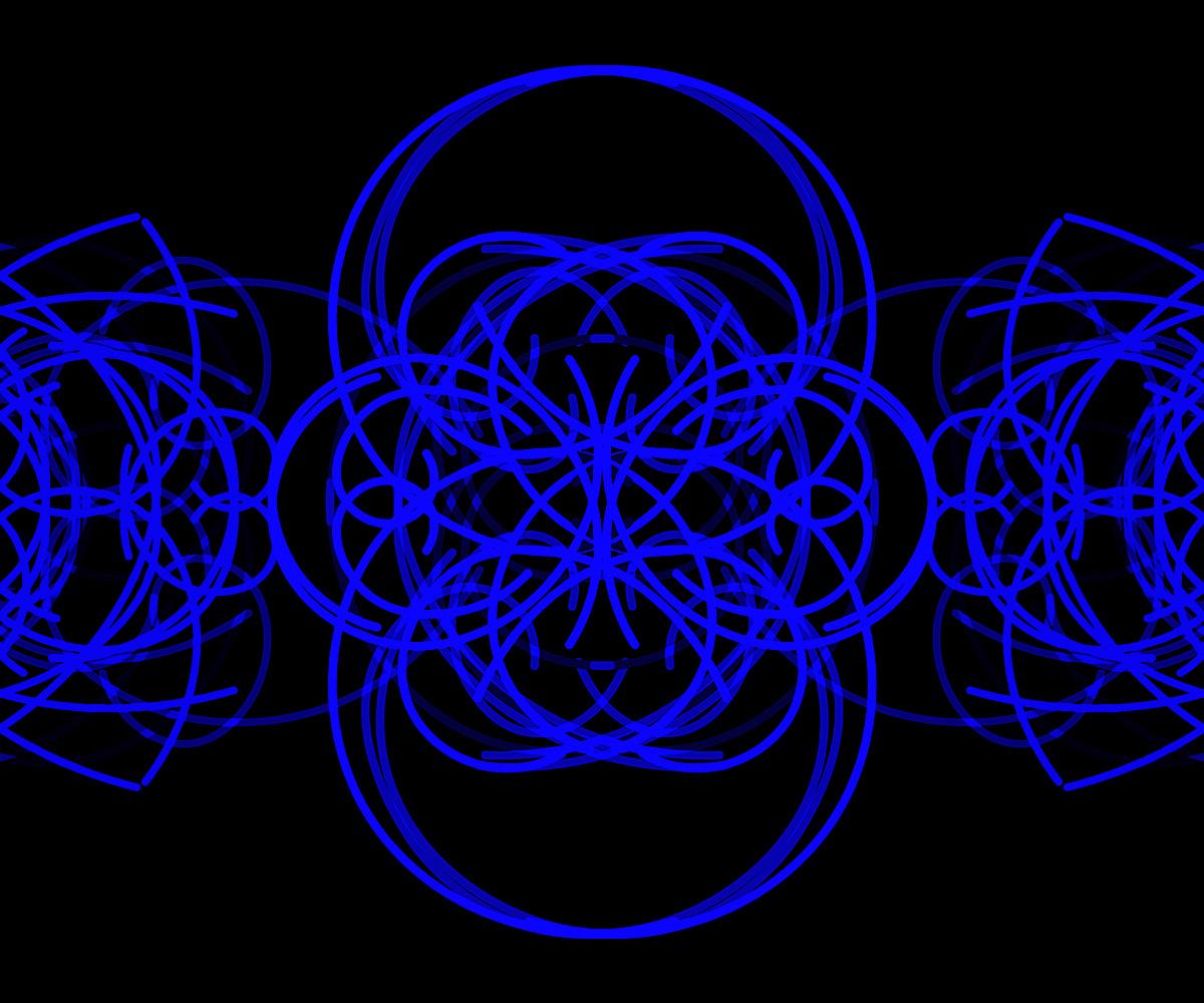 Randy Gibson's <em>Quadrilateral Starfield Symmetry PAVS(3) 2:7:154</em>