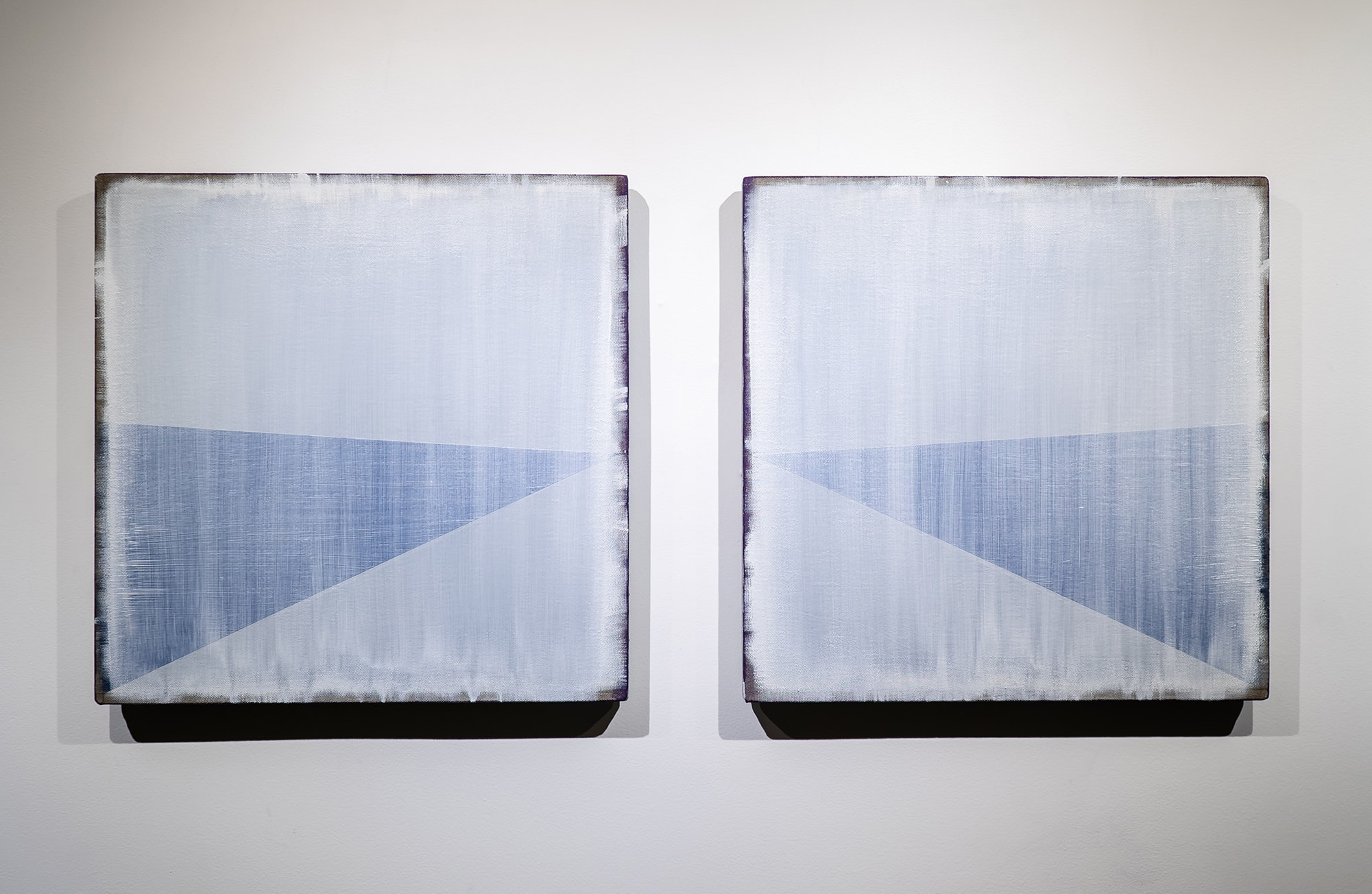 Randy Gibson : Rational Wedge 7:4 (Diptych)
