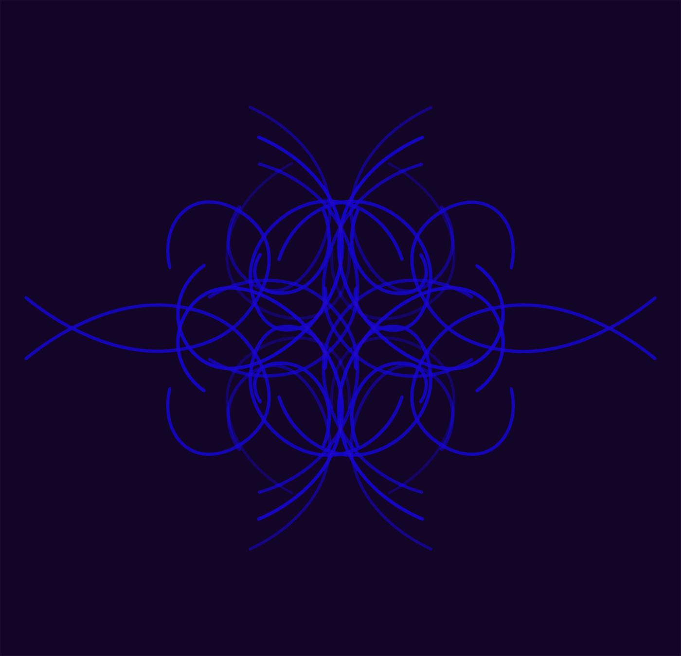 Randy Gibson's <em>Quadrilateral Starfield Symmetry Tx4 Base 7:144</em>