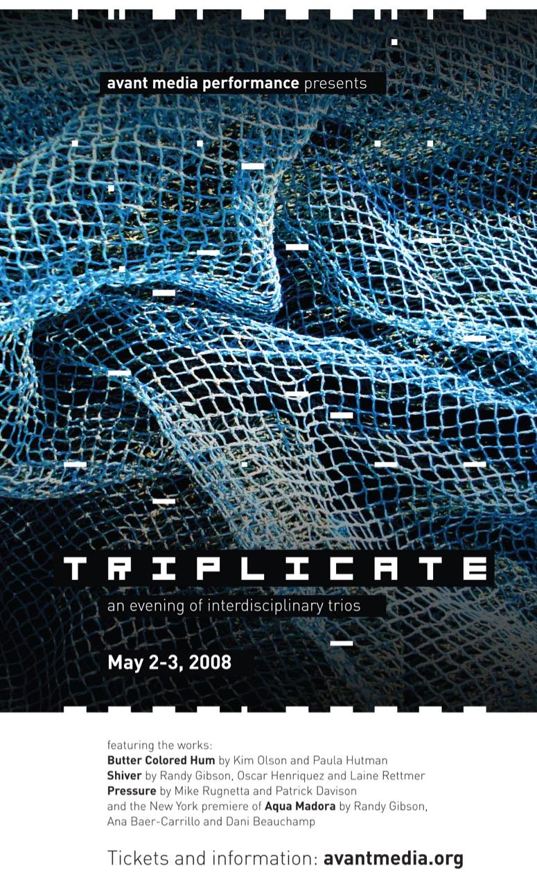 Poster for <em>Triplicate</em>