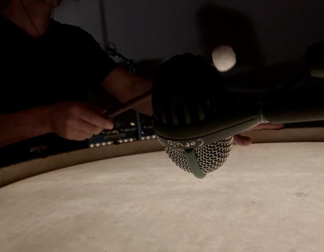 Albert Cerulo performing Randy Gibson's <em>Expanding Rhythms in Harmonic Time</em>