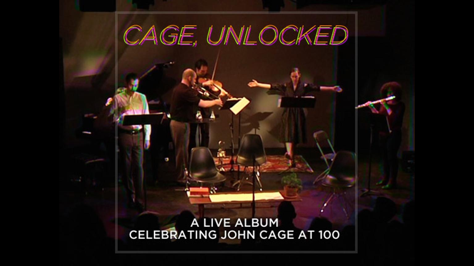 Cage, Unlocked Kickstarter Image