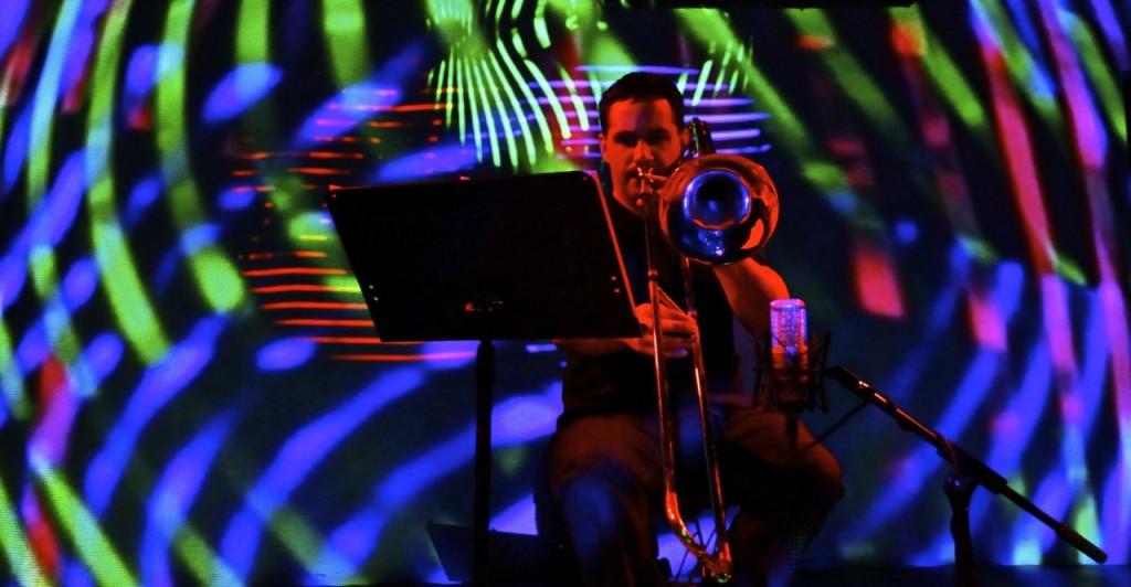 William Lang performing Randy Gibson's ″The Third Pillar...″