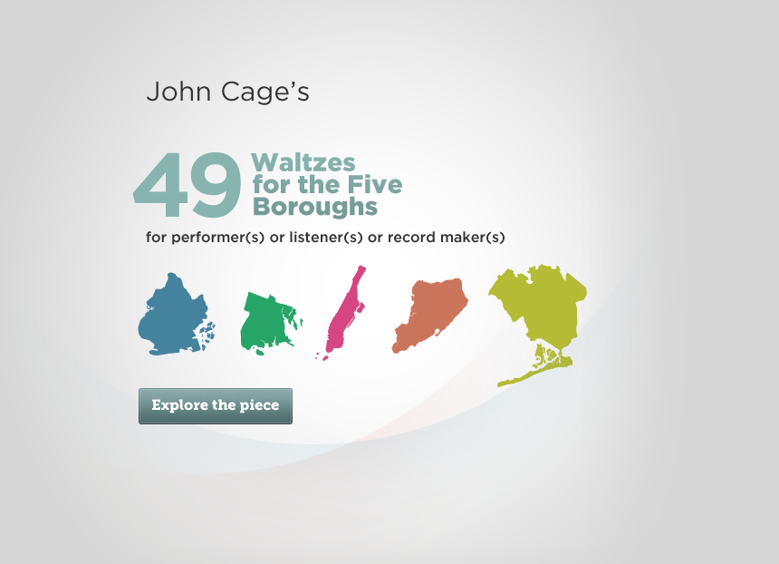 John Cage's <em>49 Waltzes for The Five Boroughs</em> realized by Randy Gibson and Oscar H Scott