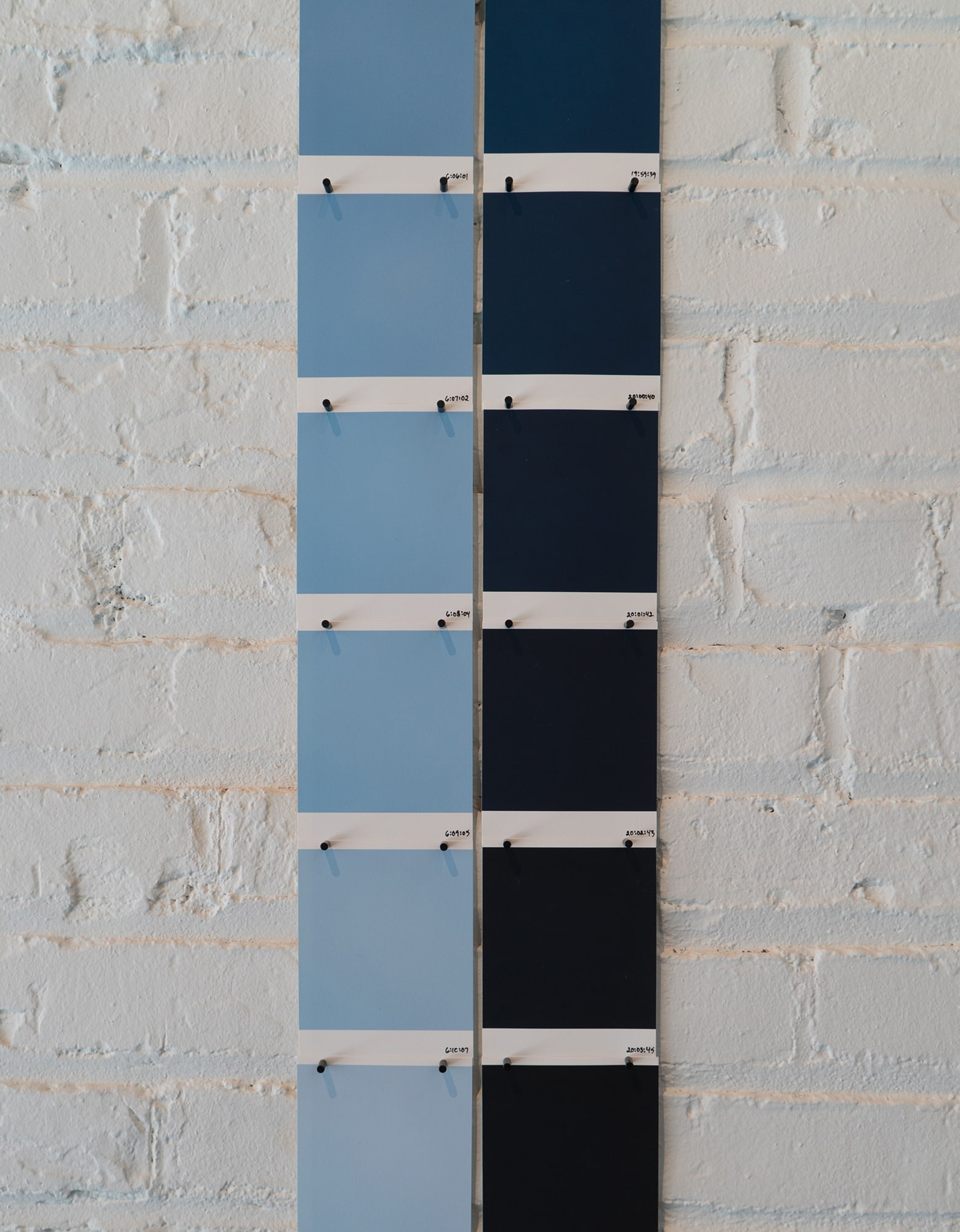 Randy Gibson's <em>Available Light Symmetry 17 VIII 21</em> installed at the Wild Project Gallery