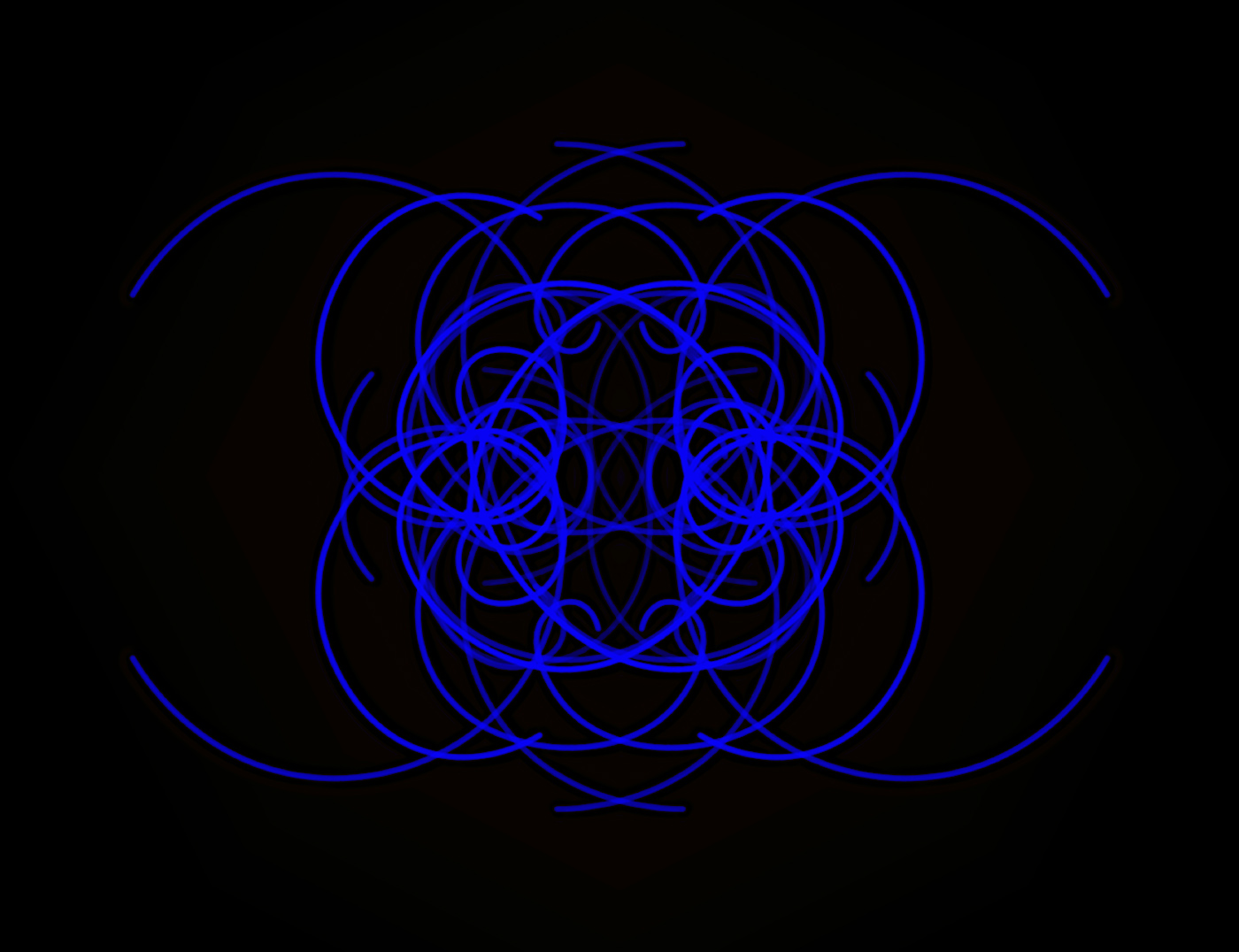Randy Gibson's <em>Quadrilateral Starfield Symmetry T:O Base 7:172</em>