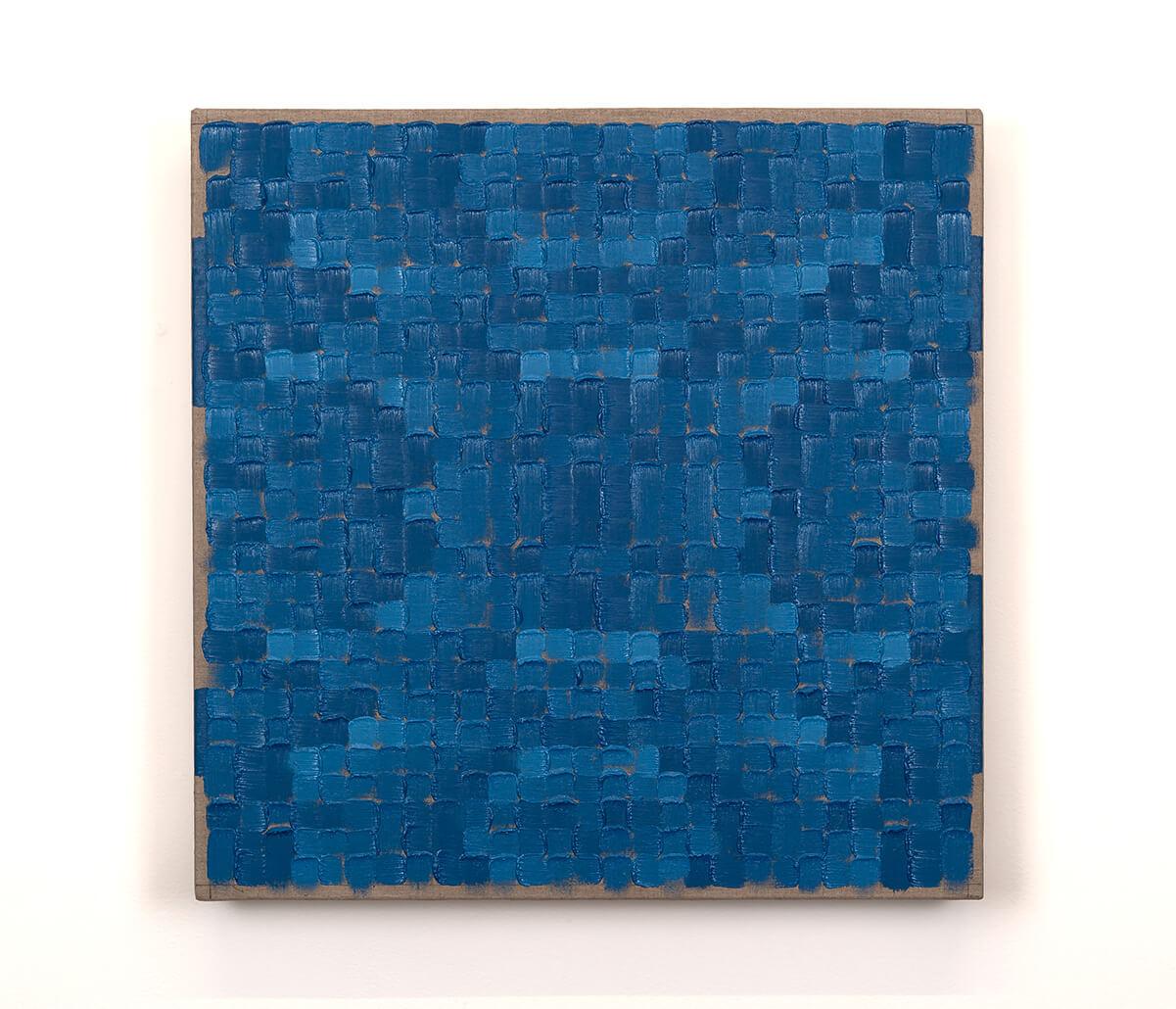 Randy Gibson : Quadrilateral Grid 3 (Cobalt Chromite Blue-Green Spinel)
